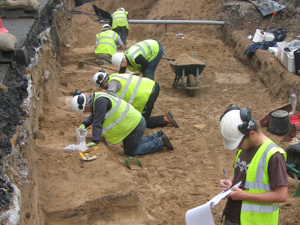 Edinburgh Trams - Site Dig